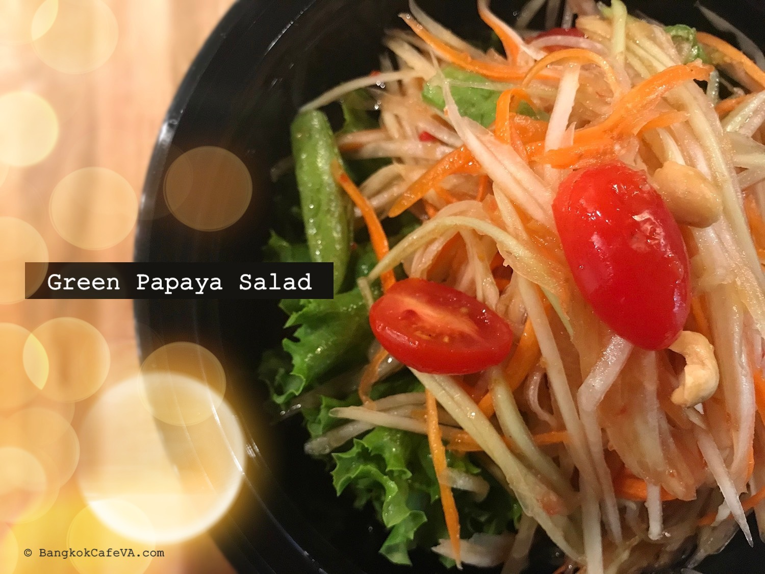 Green Papaya Salad | $7.95