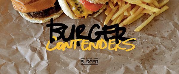 Burger contenders au Café A
