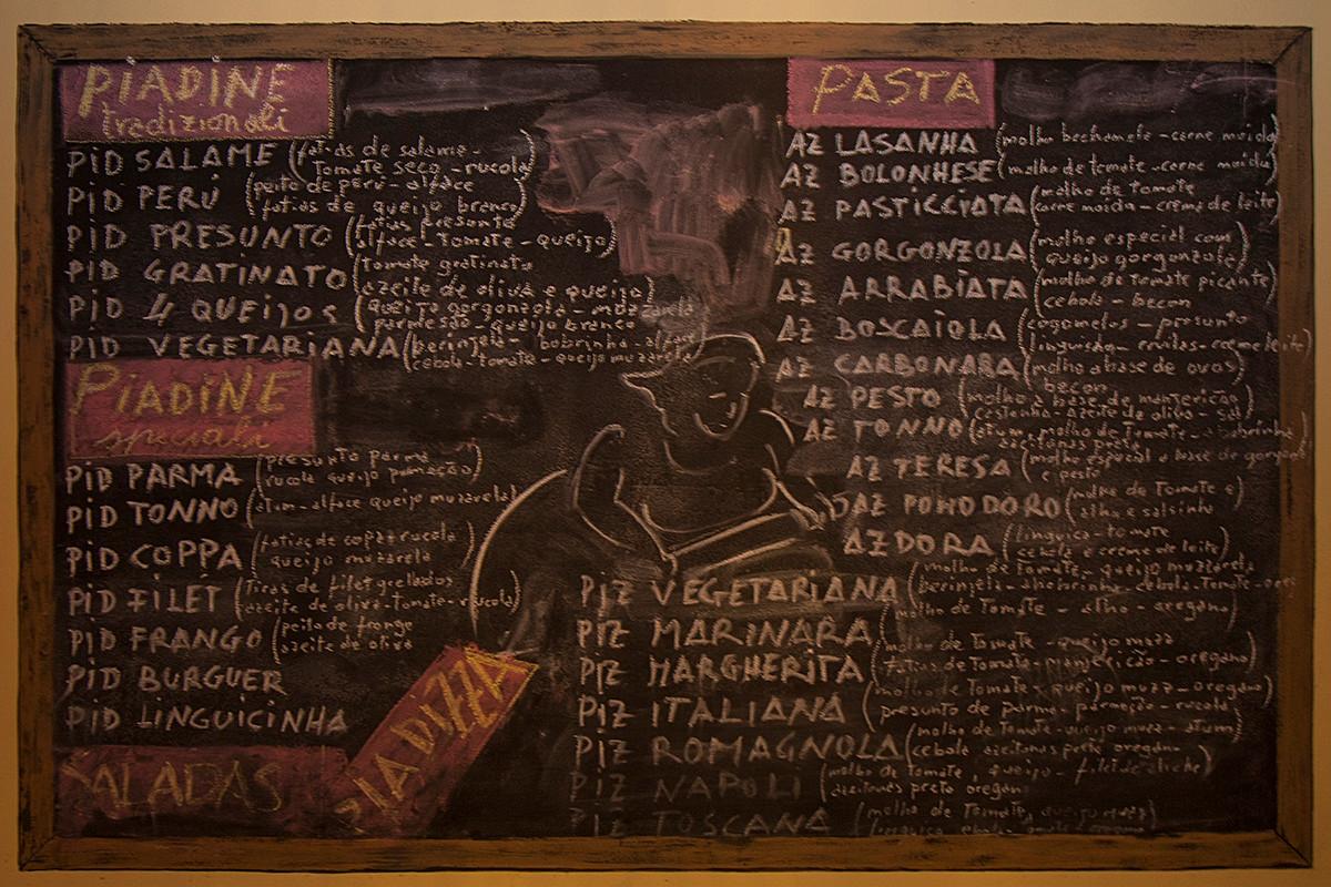 Antigo menu