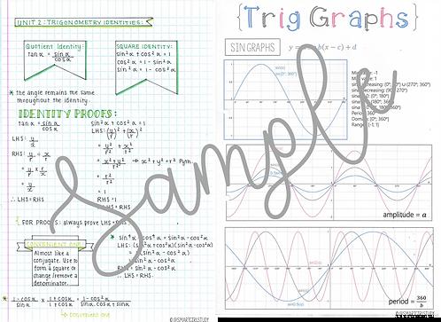 Grade 11 Trigonometry