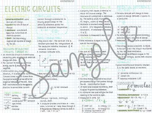 Grade 12 Electric Circuits