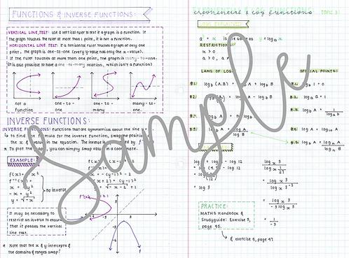 Grade 12 Functions