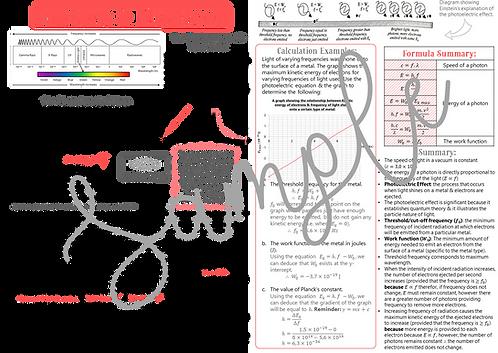 Grade 12 Photons & Electrons