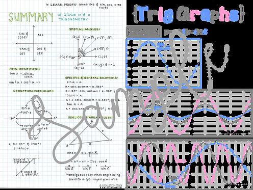 Grade 12 Trigonometry