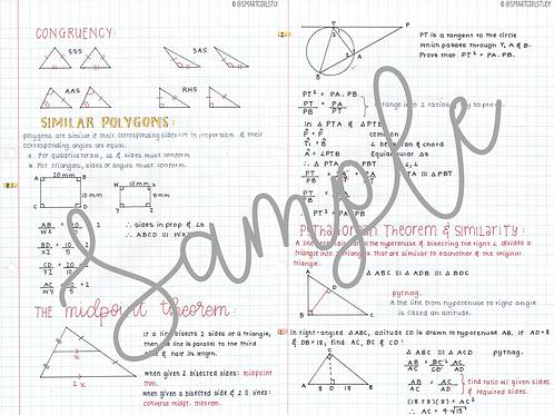Grade 12 Geometry
