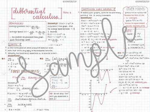 Grade 12 Calculus