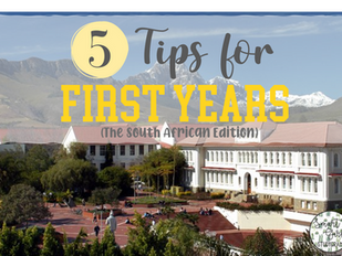 5 Tips for First-Years