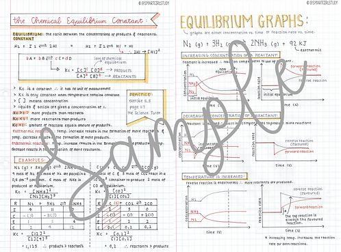 Grade 12 Chemical Equilibrium