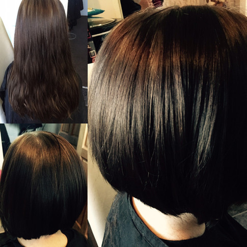 Restyle long to short