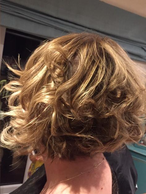 Curly bob