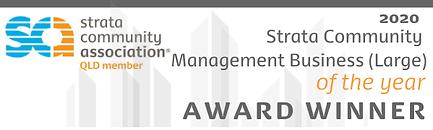 SCA Qld Award Winner