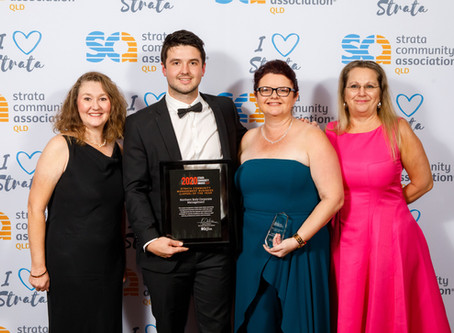 Winner SCA (Qld) 2020 Strata Community Management Business (Large)