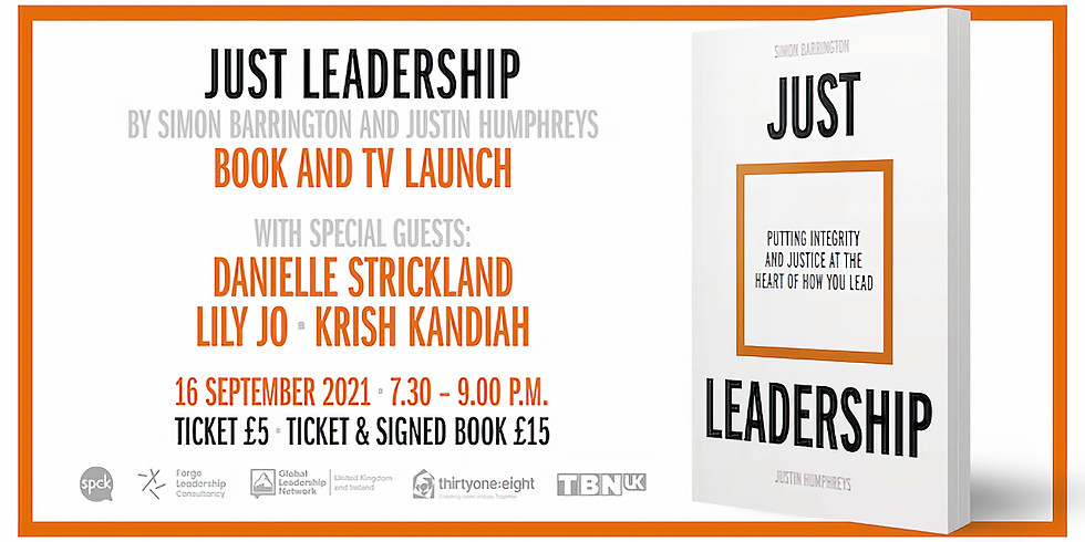 Just Leadership Book and TV Launch