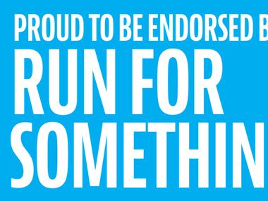 Endorsed by RunForSomething.com