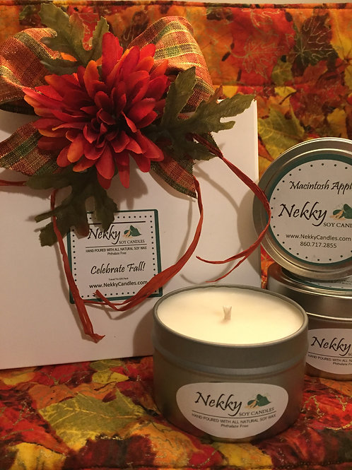 Celebrate Fall! Travel Tin Gift Pack