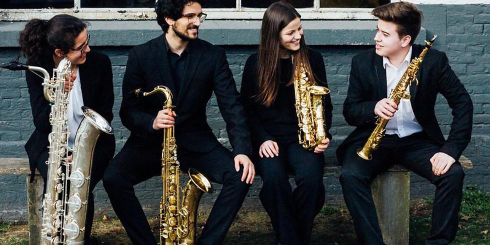 """Time Zero"" - Maat Saxophone Quartet"