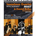 Maat Saxophone Quartet & Daniel Bolba