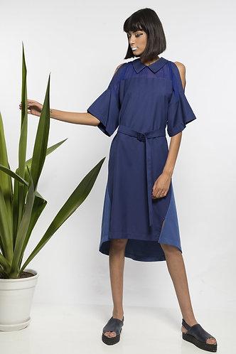 robe bleue GEISHA