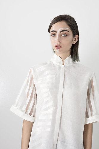 chemise multi-poches MANDARIN