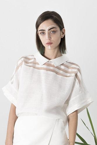 chemise blanche GEISHA