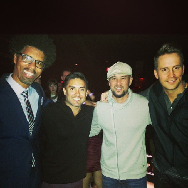Great night presenting at World Dance Awards in Hollywood! With friends Gustavo Vargas, Chris Judd (