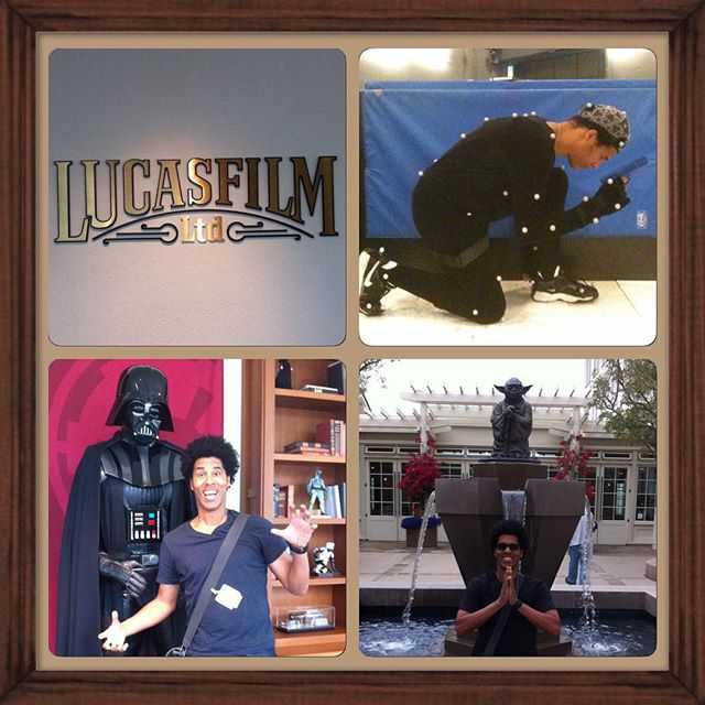 In honor of the weekend - My time working up at Lucas Films! #starwars #theforceawakens #knowthereal