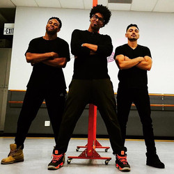 In the lab with these characters! #groovaloos #comingsoon #dance #freestyle #itsthegroove _justoscar