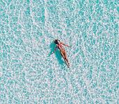 Sommer svømmer