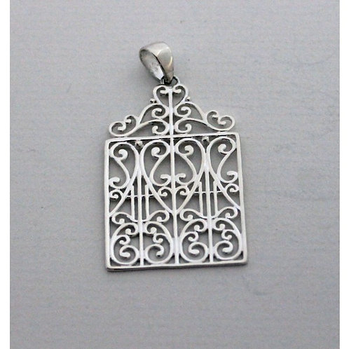 Southern Gates Scroll Top Gate Pendant