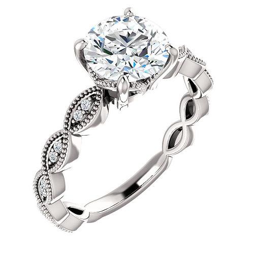 Bridal semi-mount 123134