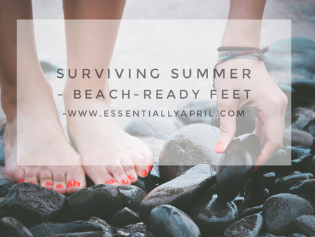 Surviving Summer – Beach-Ready Feet
