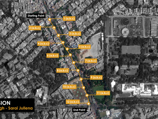The Un-walkable city:Observing South Delhi's pedestrian framework