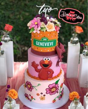 Elmos Garden Party