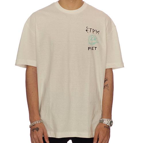 t-shirt tracklist white