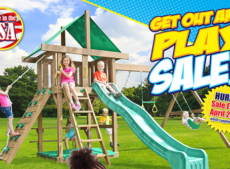 Get Out and Play Sale!