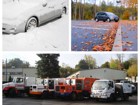 Late Fall and Parking lot Clean up and Repairs