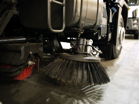 Spring Street Sweeping: An Exercise in Environmental Maintenance