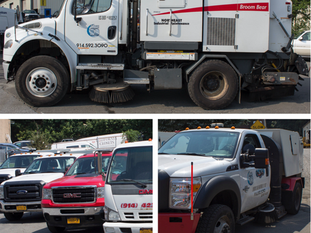Three D specializes in street sweeping, parking lot sweeping and construction site sweeping