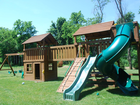 Summer is for Swing Sets!