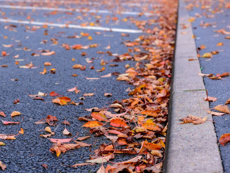 Fall Parking lot Sweeping
