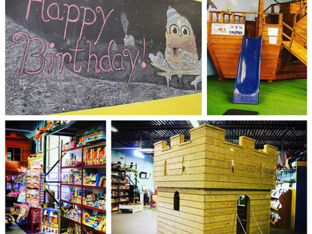 Planning a party? We've got you covered at TimberGyms!