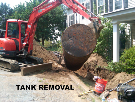 In Ground Heating Oil Tank Removal