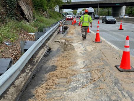 Accident scenes and hazardous spills