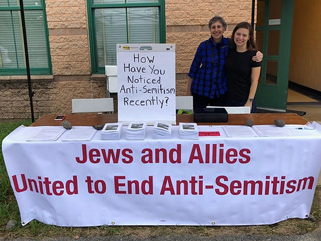 Jews & Allies united to end anti-semitis