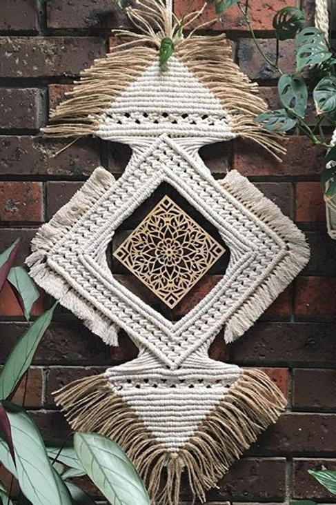 Macrame Wall Hanging | Wall Art