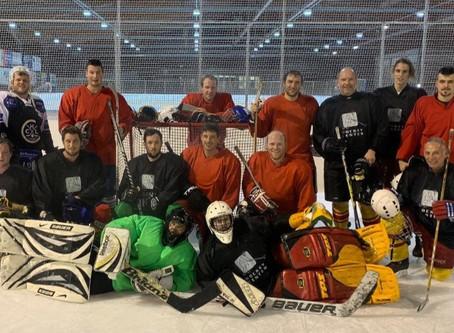 Letzte Turnstunde des Jahres - Eishockeyplausch