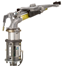Nelson end gun valve