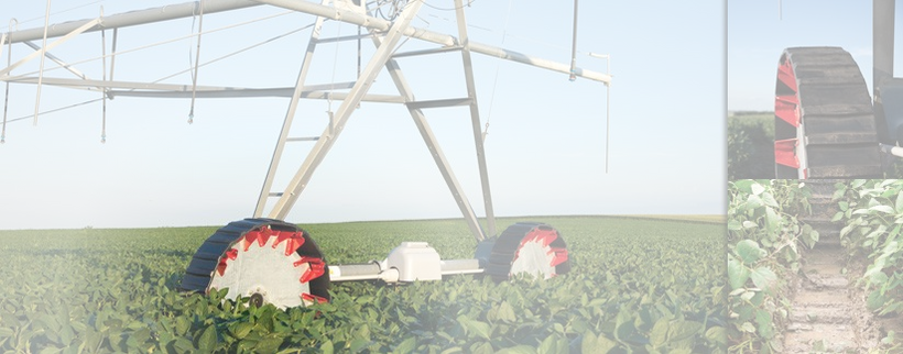 Standouts amongst center pivot irrigation tires