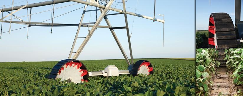 Standouts amongst center pivot irrigation tires