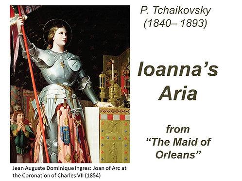 "Tchaikovsky ""Ioanna's Aria"" - FULL PACK"